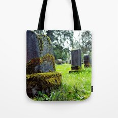 Quiet cemetery Tote Bag