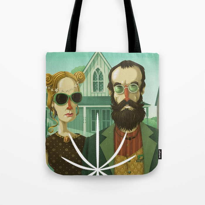 American Gothic High Tote Bag