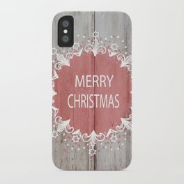 Merry Christmas #2 iPhone Case