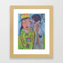 Sweety Pie Framed Art Print