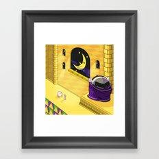 Kirby Vs Metaknight Framed Art Print