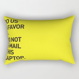 Save the planet. Rectangular Pillow