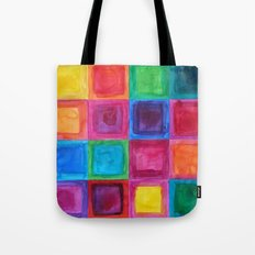 Tiled abstract 1 Tote Bag