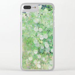 Nature's First Green Clear iPhone Case