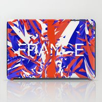 france iPad Cases featuring France by Danny Ivan
