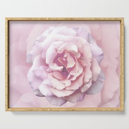 Pink Rose Beauty Serving Tray