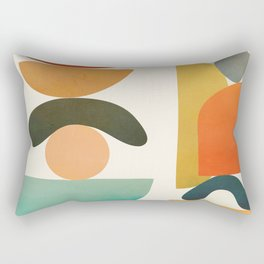 Modern Abstract Art 72 Rectangular Pillow