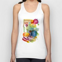olivia joy Tank Tops featuring Joy by Young Ju
