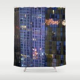 ARCH ABSTRACT 11: City Center Development, Las Vegas Shower Curtain