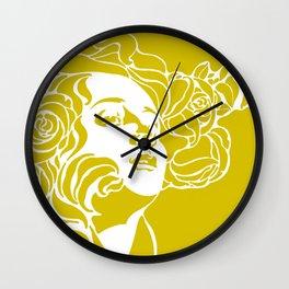 """Koloman (Kolo) Moser """"Girl's head"""" (4) Wall Clock"""