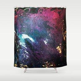 Crazed Shower Curtain