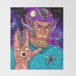 Monster Alien Throw Blanket