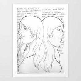 BPD Art Print