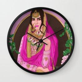 Dressed Like a Treasure Chest ( desi ) Wall Clock