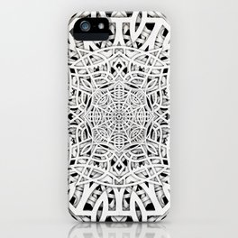Papercutting layers 2 iPhone Case