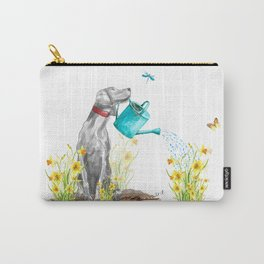 DAFFODILS AND WEIM Carry-All Pouch