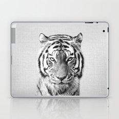 Tiger - Black & White Laptop & iPad Skin