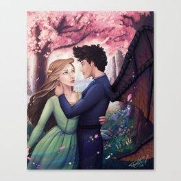 Flowerborn Canvas Print