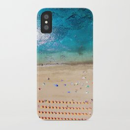 AERIAL. Summer beach iPhone Case