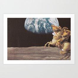 taking earth Art Print