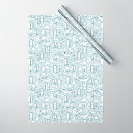 Tools of the Postal Worker Wrapping Paper