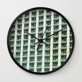 Tel Aviv - Crown plaza hotel Pattern Wall Clock