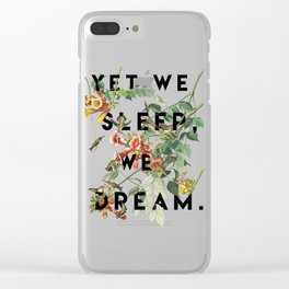 Midsummer's Night Clear iPhone Case
