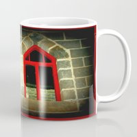 medieval Mugs featuring Medieval Windows by Chris' Landscape Images & Designs