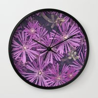 african Wall Clocks featuring African Beauty by Maria Heyens