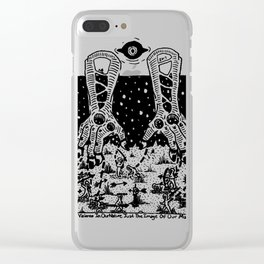 The Violence Clear iPhone Case
