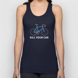 Kill Your Car Unisex Tank Top