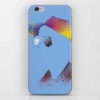 calvin hobbes iPhone & iPod Skins featuring Calvin? by Arian Noveir