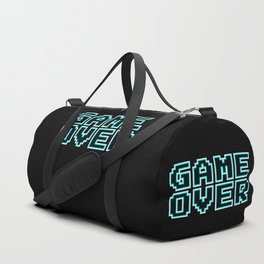 GAME OVER (blue) Duffle Bag