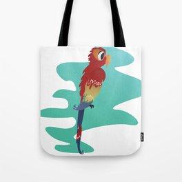 Little Parrot Tote Bag