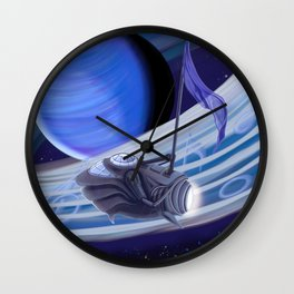Through Space and Sound Wall Clock