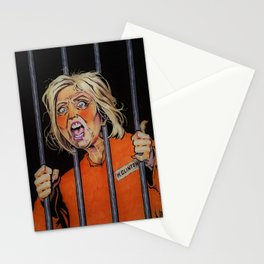 Lock Her Up Stationery Cards