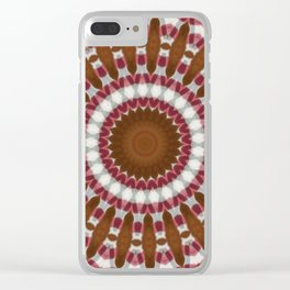 Some Other Mandala 204 Clear iPhone Case