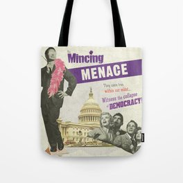 The Mincing Menace Tote Bag