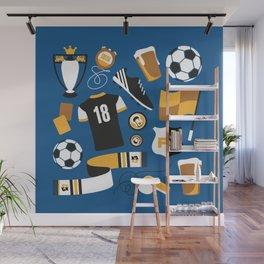Football Fan Wall Mural