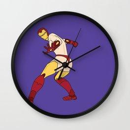 Strike A Pose Wall Clock