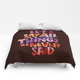 All The Things Comforters