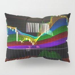 "Сandlestick chart with ""Rainbow"" indicator Pillow Sham"