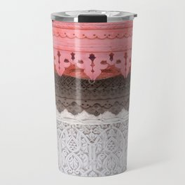 Pink Al Balad Coral House Travel Mug
