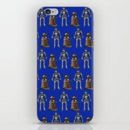 Doctor who - Cybermen and Darleks iPhone Skin