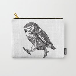 Keep on moving ornate owl Carry-All Pouch