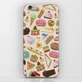 Desserts of NYC Cream iPhone Skin