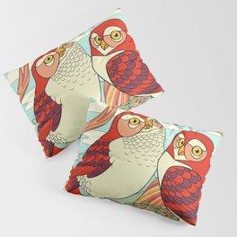 Burrowing Owl Family Pillow Sham