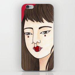 Eun-Mi / Red iPhone Skin