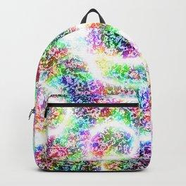 Funky Grungy Rainbow Backpack