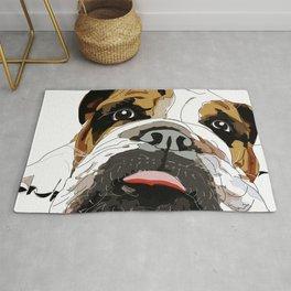 Bitch Please.  I'm Fabulous.  English Bulldog. Rug